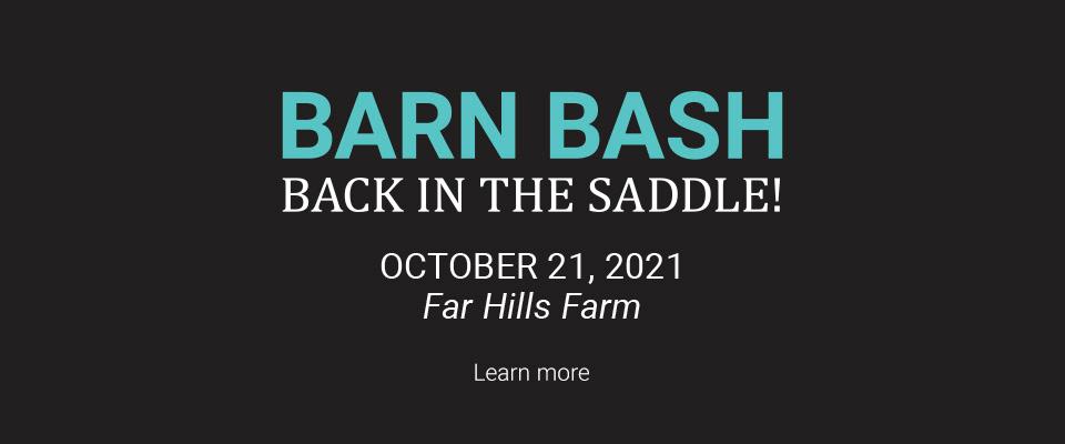 Barn Bash - Back in the Saddle!